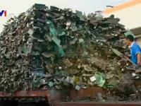 Nguy cơ từ rác thải điện tử gia tăng mạnh tại châu Á