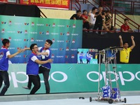 Xác định 24 đội tuyển vào Chung kết Robocon Việt Nam 2017