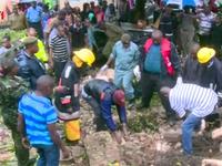 Sập tường bệnh viện ở Kenya, 6 người thiệt mạng