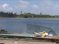 Phát hiện 2 hố xoáy ở khu vực sạt lở tại An Giang