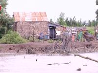 Người dân vùng sạt lở Cà Mau không mặn mà với khu tái định cư