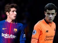 Chuyển nhượng bóng đá quốc tế ngày 29/12/2017: Barcelona chấp nhận đổi sao trẻ để lấy Coutinho từ Liverpool