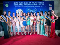 Ngắm nhan sắc của các thí sinh Hoa hậu Hữu nghị ASEAN tại Phú Yên