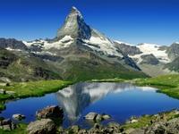 Mùa hè tuyệt đẹp trên dãy núi Alps