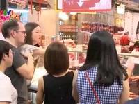 Bak quak – quà Tết truyền thống của người Singapore