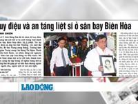 Câu chuyện cảm động về quá trình tìm kiếm hài cốt liệt sỹ ở sân bay Biên Hòa
