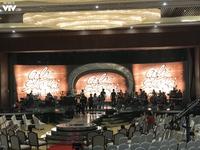 Gala 20 năm Sao Mai: Tất bật chuẩn bị trước giờ G