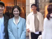 Fan sướng rơn vì ảnh mới cực ngọt ngào của Song Joong Ki và Song Hye Kyo