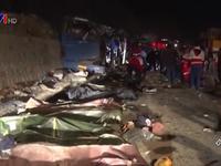 Tai nạn xe bus thảm khốc ở Iran, 14 người thiệt mạng