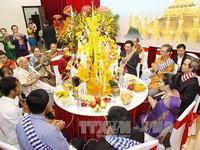Lễ đón Tết cổ truyền Bun Pi May 2560 tại Việt Nam