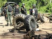 Thái Lan: Đánh bom nhằm vào xe quân sự, 10 người thương vong