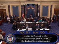 Kết quả bỏ phiếu sít sao, Thượng viện Mỹ tiếp tục tranh luận việc bãi bỏ, thay thế Obamacare