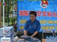 Hà Nội: Gần 10.000 tình nguyện viên đồng hành cùng thí sinh thi THPT Quốc gia