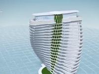Tòa nhà chọc trời hấp thụ khí CO2