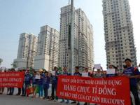 'Nóng' việc tranh chấp chung cư ở TP.HCM