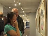 Khai mạc triển lãm tranh lụa Việt Nam tại Mỹ