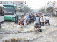 Hàng nghìn hộ dân bị ảnh hưởng do triều cường ở ĐBSCL