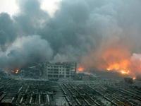 Nổ nhà máy hóa chất tại Trung Quốc