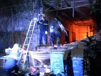 TP.HCM: Xưởng may cháy lớn nhiều giờ trong đêm