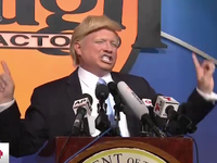 Hàng loạt 'bản sao' của Tổng thống Donald Trump quy tụ ở Mỹ