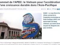 Báo chí nước ngoài đưa tin về APEC 2017
