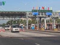 Xe tải né trạm thu phí gây mất an toàn các tuyến các con phố ở Tiền Giang