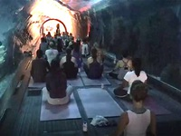 Độc đáo lớp học Yoga giữa thủy cung