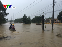 Severe flooding in Quang Nam province