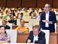 NA deputies discuss measures to improve Vietnam's economic quality and competitiveness