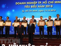 HCM City honours outstanding enterprises, businessmen