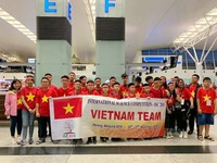 Vietnamese students win four gold medals at int'l science contest