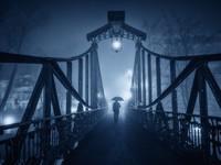Thị trấn ở Ba Lan huyền bí và 'ảo diệu' trong sương mù giá lạnh