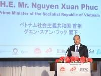Thủ tướng Nguyễn Xuân Phúc kêu gọi doanh nghiệp Nhật Bản đầu tư vào lĩnh vực công nghệ cao