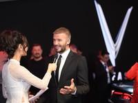 David Beckham đẹp trai 'khó cưỡng' tại buổi ra mắt xe của Vinfast