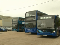 Xe bus đặc biệt có khả năng lọc không khí