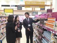 Hàng Việt Nam được tiêu thụ mạnh tại hệ thống siêu thị Nhật Bản
