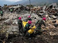 Số người chết do thảm họa động đất, sóng thần Indonesia tăng lên 1.649 người