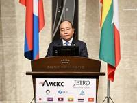 Thủ tướng Nguyễn Xuân Phúc dự Diễn đàn Đầu tư Mekong - Nhật Bản