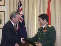 Việt Nam - Australia thúc đẩy hợp tác quốc phòng