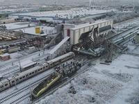 Tai nạn tàu cao tốc ở Thổ Nhĩ Kỳ, hàng chục người thương vong