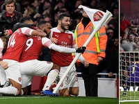 VIDEO Arsenal 4-2 Tottenham: Derby London giàu cảm xúc