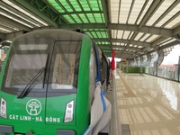Đẩy nhanh thủ tục nghiệm thu đường sắt đô thị tuyến Cát Linh - Hà Đông