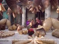 Một sớm bình yên ở làng nghề đan đó Tất Viên