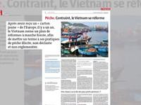 Báo chí châu Âu đánh giá cao nỗ lực tháo gỡ thẻ vàng thủy sản của Việt Nam