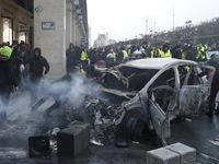 Tổng thống Pháp chấp nhận đàm phán với người biểu tình