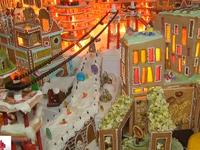Thú vị thành phố bánh gừng mừng Giáng sinh ở Anh