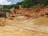 Lâm Đồng thu hồi 3 giấy phép khai thác cát trên sông Đồng Nai