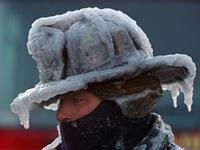 """Những hình ảnh """"kinh dị"""" về mùa đông giá rét và khắc nghiệt ở Mỹ"""