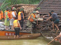 Efforts to overcome flood consequences in Nghe An