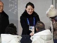 Tổng thống Hàn Quốc bắt tay em gái nhà lãnh đạo Triều Tiên